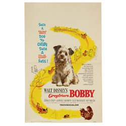 Greyfriar's Bobby Window Card.