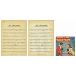 """""""Let's Get Together"""" Vocal Sheets for Annette & Tommy."""