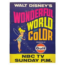 Wonderful World of Color Advertising Poster.