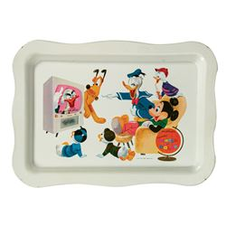 Wonderful World of Color TV Tray.