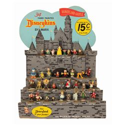 Disneykins Castle Store Display With (34) Figures.