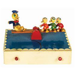 Donald Duck Musical Jewelry Box.