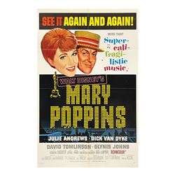 Mary Poppins One Sheet Poster.