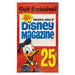 Wonderful World of Disney Magazine Advertising Banner.