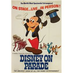 Disney on Parade Advertising Poster.