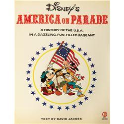 """Disney's America on Parade"" Commemorative Book."