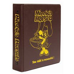 Minnie's Morsels Recipe Book.