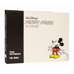 Walt Disney's Mickey Mouse in Color Signed Book.