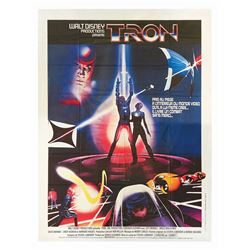 Tron French One Panel Poster.