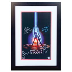 Multi-Signed Tron Poster Print.