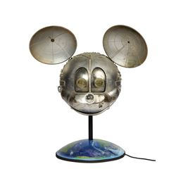 Disney Channel Satellite Mickey Mouse Prop.