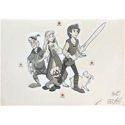 The Black Cauldron Retouched Promotional Artwork.