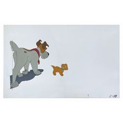 Oliver and Company Production Cel.
