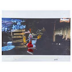 Who Framed Roger Rabbit Roger Production Cel.