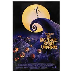 The Nightmare Before Christmas One Sheet Poster.