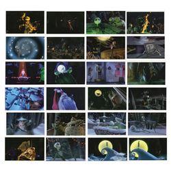 Set of (77) Nightmare Before Christmas Scene Prints.