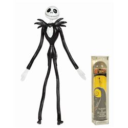 Pair of The Nightmare Before Christmas Toys.