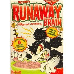 Runaway Brain Vinyl Mickey Figure.