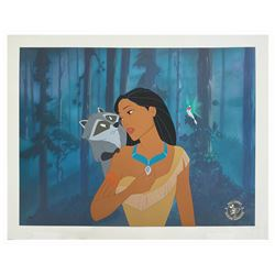 Pocahontas Crew Gift Hand-Painted Limited Edition Cel.