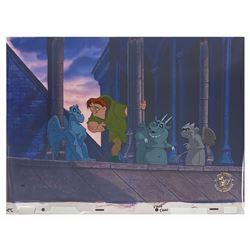 Hunchback of Notre Dame Crew Gift Limited Edition Cel.