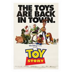 Toy Story One Sheet Poster.