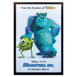Monsters, Inc. One Sheet Poster.
