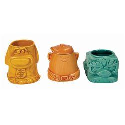 Pixar's Up Stackable Tiki Mugs.