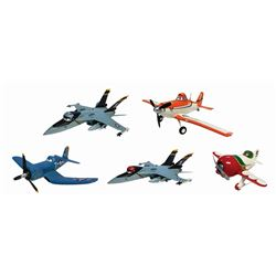 Collection of (5) Planes Animator Maquettes.