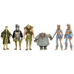 Set of Atlantis Prototype Toys with Accessories.