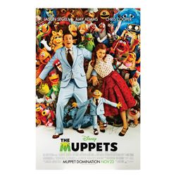 Signed The Muppets Event Poster.