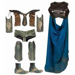 John Carter Helium Female Soldier Armor Props.