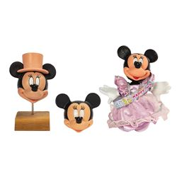 Minnie Mouse Toy Development Models.
