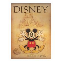 "Signed ""Leo Da Mickey"" Art Print."