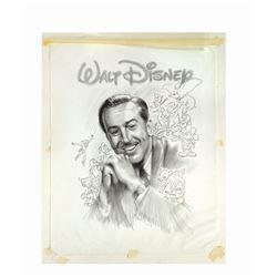 Walt Disney Portrait Artwork by Peter Green.