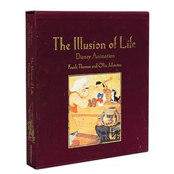 """""""The Illusion of Life"""" Signed Hardcover Book."""