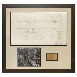 Carolwood Pacific Railroad Trestle Bridge Artwork.