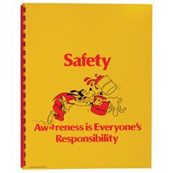 Cast Member Safety Booklet.