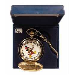 Audio & Lighting Cast Member Mickey Pocket Watch.