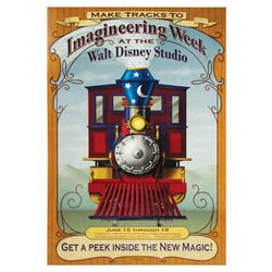 "Walt Disney Studios ""Imagineering Week"" Sign."