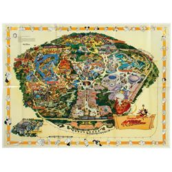 1995-E Disneyland Souvenir Map with Errors.