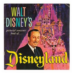 Walt Disney's Pictorial Souvenir Book of Disneyland.