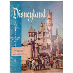 """""""A Complete Guide to Disneyland"""" 1956 Guidebook."""