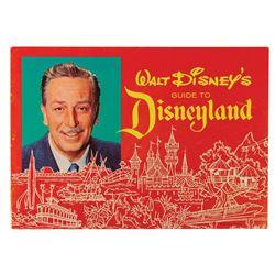 1963 Walt Disney's Guide to Disneyland.