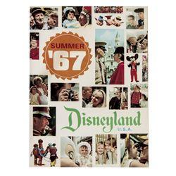 Summer 1967 Disneyland Guidebook.