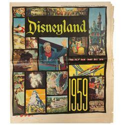 1959 Disneyland Newspaper Insert.