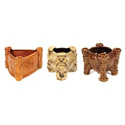 Set of (3) Trader Sam's Enchanted Tiki Bar Tiki Bowls.