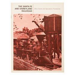 The Santa Fe and Disneyland Railroad Cast Manual.