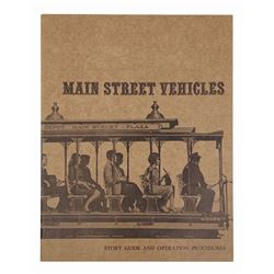 """Main Street Vehicles"" Operations Guide."