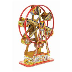 Disneyland Ferris Wheel Wind-Up Tin Toy.