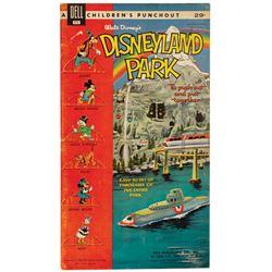 """Walt Disney's Disneyland Park"" Dell Punchout Book."